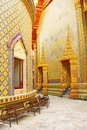 De tempel van Wat Rajabopit.The in Bangkok. Stock Foto