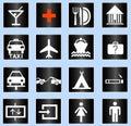 De vector van het pictogram Royalty-vrije Stock Foto