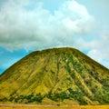 De vulkaan van Batok Stock Afbeelding