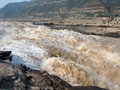 De Waterval van Huko Stock Afbeeldingen
