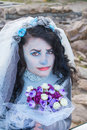 Dead Bride Royalty Free Stock Photo