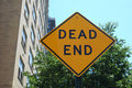 Dead End Royalty Free Stock Photo