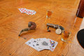 Dead man s hand believed to be the held by wild bill hickok when he was assisinated Stock Images