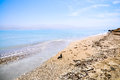 Dead Sea coast, Israel Stock Photo