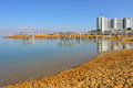 Dead sea resort israel apr tourists have a rest in the crowne plaza one from many resorts of s part of Stock Image