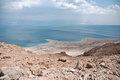 Dead sea view of the israel Royalty Free Stock Images