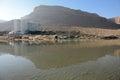 Dead Sead view, Ein Bokek, Israel Royalty Free Stock Photo
