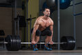 Deadlift Workout For Back Royalty Free Stock Photo