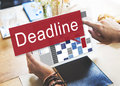 Deadline Appointment Final Time The End Countdown Urgency Concep Royalty Free Stock Photo