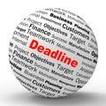 Deadline Sphere Definition Means Job Time Limit