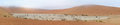 Deadvlei panorama Stock Photography