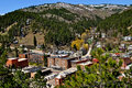 Deadwood south dakota city view Stock Images