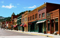 Deadwood south dakota city view Stock Photo