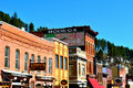Deadwood south dakota united states of america Royalty Free Stock Photo