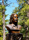 Deadwood wild bill statue south dakota Royalty Free Stock Photography
