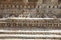 Deail del templo de Hadrian, Ephesus Foto de archivo