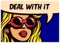 Deal With It! Vintage Pop Art ...