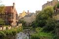Dean village in edinburgh scotland Stock Photography