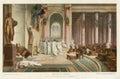 DEATH OF JULIUS CAESAR Royalty Free Stock Photo
