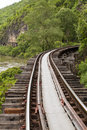 The Death Railway Stock Photo