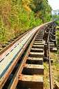 Death Railway Royalty Free Stock Photos