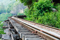 The death railway thailand burma on world war ii Stock Photo