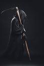 Death with scythe Royalty Free Stock Photo