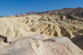 Death valley attraction one of is known known as zabriskie point Stock Photo