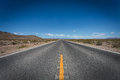 Death valley california highway in Stock Images