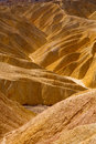 Death valley national park california zabriskie point eroded mudstones Stock Photos