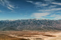 Death valley national park famous view over usa Royalty Free Stock Photography