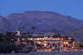 Furnace Creek Resort in Death Valley NP USA Royalty Free Stock Photo