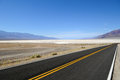 Death Valley Road Royalty Free Stock Images