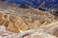 Death valley zabrinski point Royalty Free Stock Images