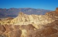 Death valley zabrinski point Stock Images