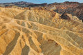 Death valley Zabriskie point landscape Royalty Free Stock Photos