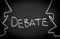 Debate concept Royalty Free Stock Photo