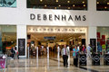 Debenhams shop in a mall Royalty Free Stock Images