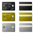 Debit Cards Stock Image