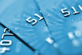 Debit cards. Royalty Free Stock Photo