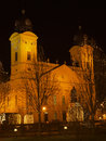 Debrecen Chrismast light Royalty Free Stock Image