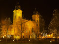 Debrecen Chrismast light Royalty Free Stock Photo