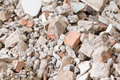 Debris construction site closeup texture Royalty Free Stock Photo