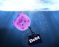 Debt Conccept, Financial Crisis