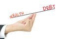 Debt concept Royalty Free Stock Photo
