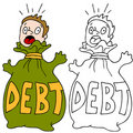 Debt Trap Royalty Free Stock Photo