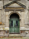 Decayed front door Stock Photography