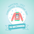 16 December National Ugly Christmas Sweater Day