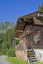 Dechant hut in Tyrol Royalty Free Stock Photo