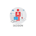 Decision Making Brainstorming Business Icon